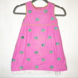 Lily Pulitzer Vintage Girls Dress sleeveless 6X